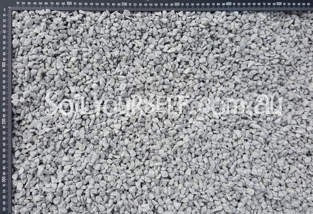 Blue Metal 10mm. Perth Gravel & Stone Supplier. Quarry direct delivery to all Perth suburbs. For all your garden and landscape supplies